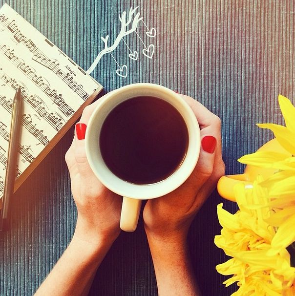coffe cup and inspiration