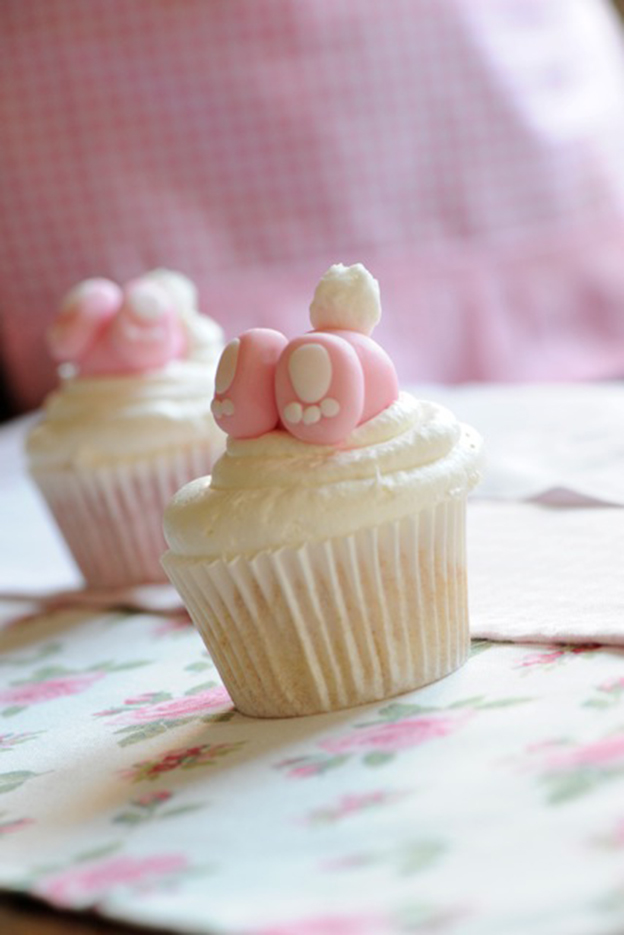 easter cupcakes bunny