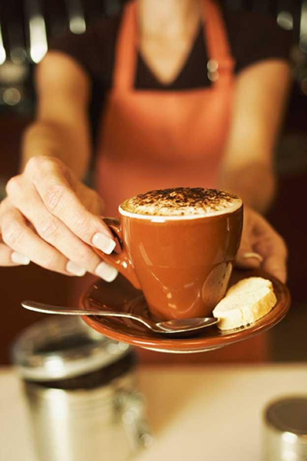 Toma un café
