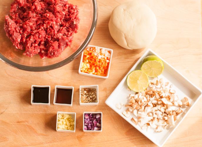 Ingredientes dumplings