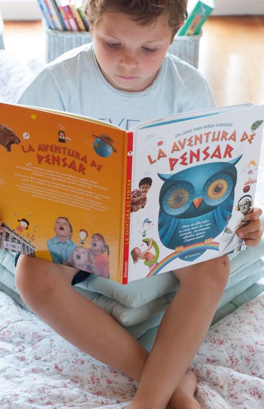 La aventura de pensar libro infantil