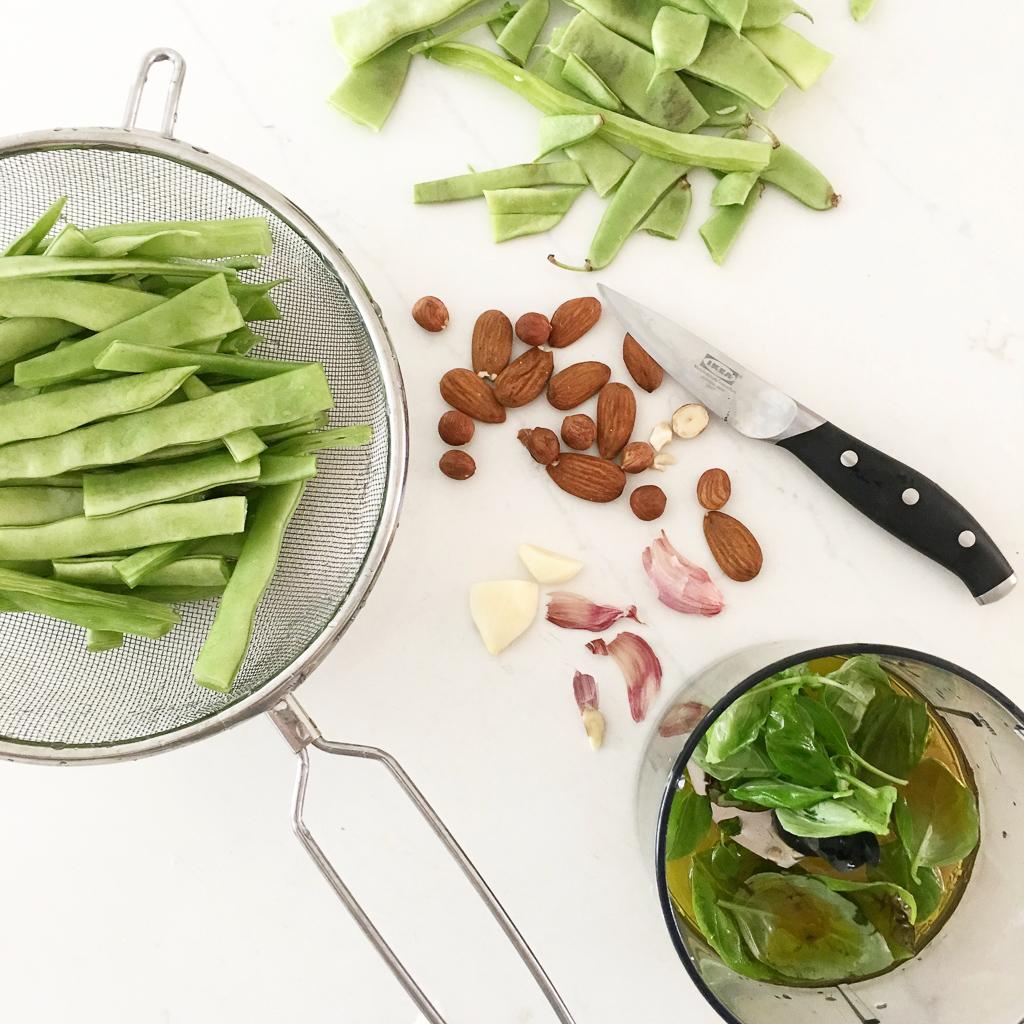 Green bean spring