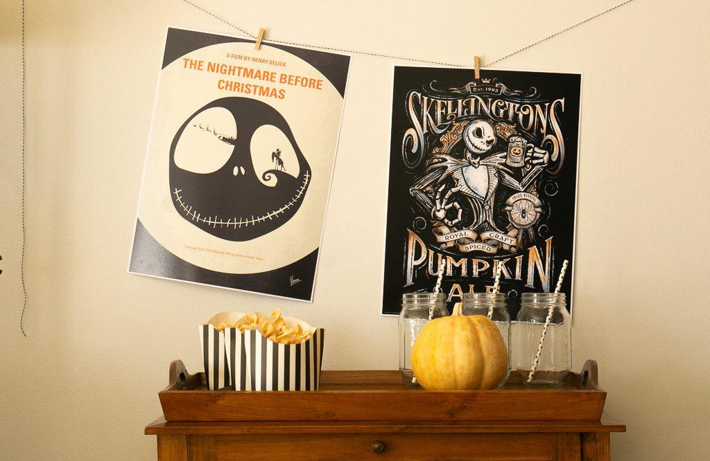 Palomitas y posters de película