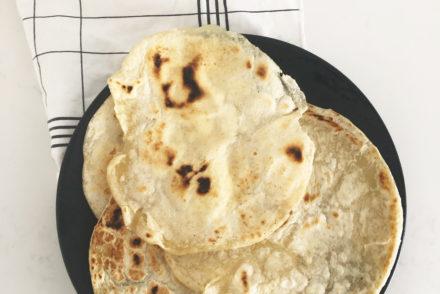 Tortilla mexicana espelta